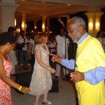 Charlene & Uncle Manley getting their groove on